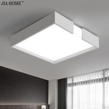 Modern Led Ceiling Lights For Indoor Lighting plafon led Square Ceiling Lamp Fixture For Living Room Bedroom Lamparas De Techo(China)