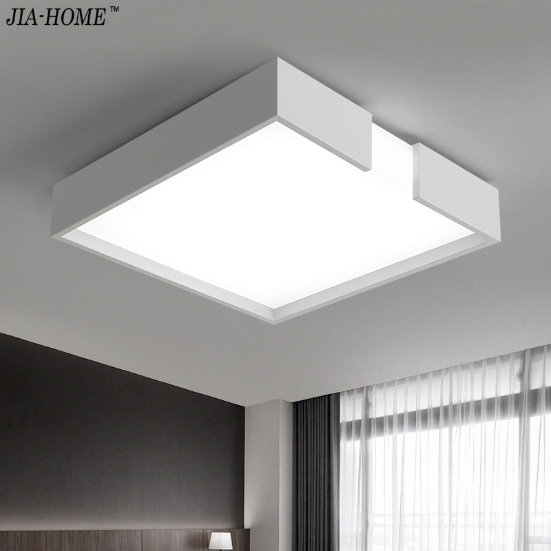 Modern Led Ceiling Lights For Indoor Lighting plafon led Square Ceiling Lamp Fixture For Living Room Bedroom Lamparas De Techo dhl ems 200 pcs double side prototype pcb tinned universal board 4x6 4 6cm j33