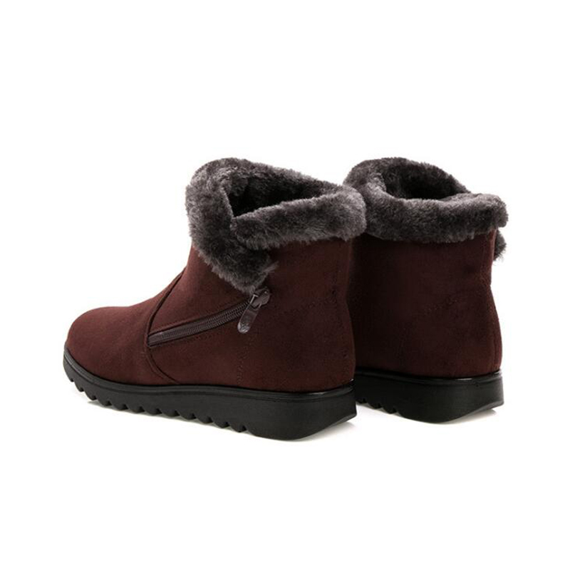 Caliente 12 Mujeres 6 7 5 Plataforma Tobillo Para 1 2 Cuña Botas Moda Nieve Nuevas 10 De 3 8 4 9 Zapatos C293 Invierno 2019 Nueva Impermeable 11 Mujer wpqPRx