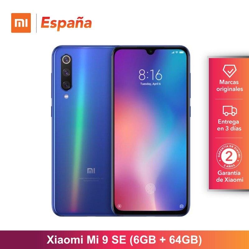 [Version globale pour l'espagne] Xiao mi mi 9 SE (mémoire interna de 64 GB, mémoire RAM de 6 GB, batterie de 3070 mAh) móvil