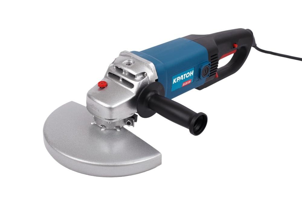 Angle grinding machine KRATON AMG-2100-230J угловая шлифмашина кратон amg 2350 230j