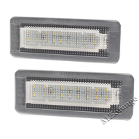 2X Led Car Styling Canbus No Error Code License Plate Lamp For Smart Fortwo Rear Number