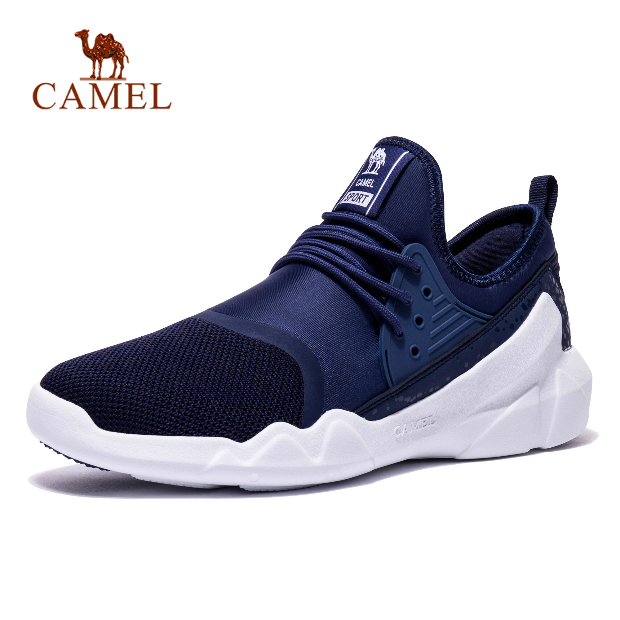 CAMEL Men Women Spring Summer Sports Shoes Lightweight Anti-skid Breathable Mesh Walking Jogging Athletic Sneakers