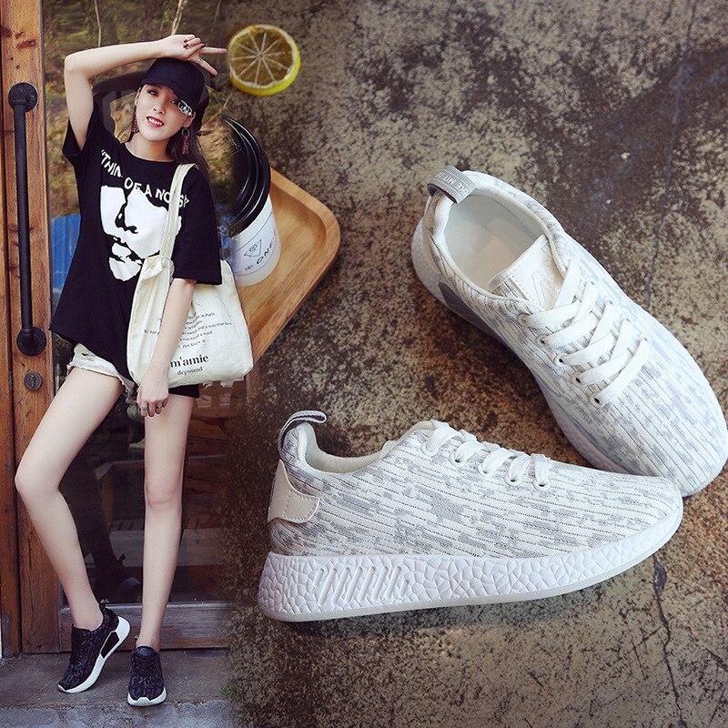 Casual Nuovo Modo Delle Basse Traspirante Nero Selvaggio Il Rosa bianco  Donne Coreano Scarpe Comode colore xq8AUqnrdZ 4cd58b87129
