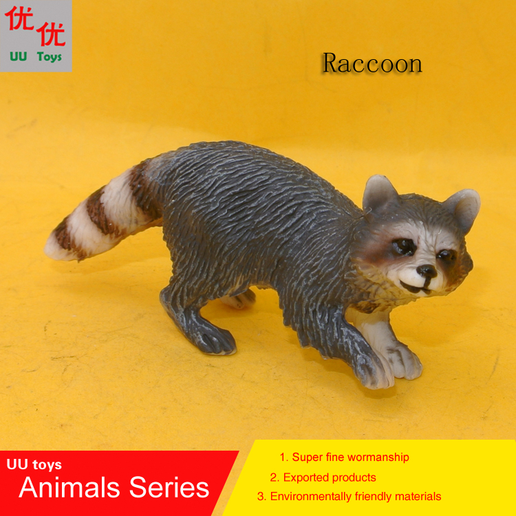 Kids Toys Simulation-Model Raccoon Animals Children Educational-Props Lotor-Ringtail
