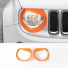 hot deal buy front bumper grille exterior promote automovil chromium trim sticker strip car styling accessories 16 17 for jeep renegade