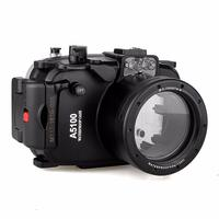 Meikon 40m 130ft Underwater Camera Housing Case for Sony A5100 16 50mm Lens Camera,Camera Waterproof Bags Case for Sony A5100