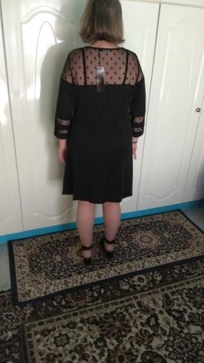 Big Size Summer Dress 5Xl Plus Size 6Xl Polka Dot Mesh Pleated Vestidos Female Clothes Robe Femme Party Dress Women photo review