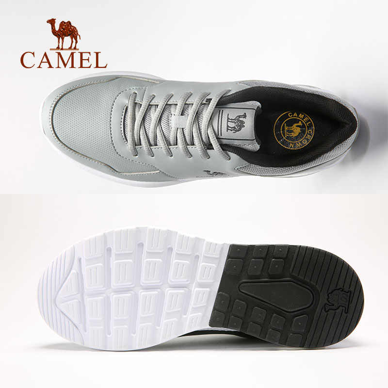 check out 2129f 87ea9 ... CAMEL Men   Women Light Running Shoes Soft Casual Warm Outdoor Jogging  Walking Sneakers High Quality ...