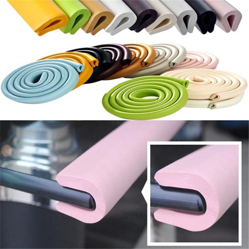 BC SP02 200CM U Shape Glass Table Corner Protector Edge Cushion Baby(China