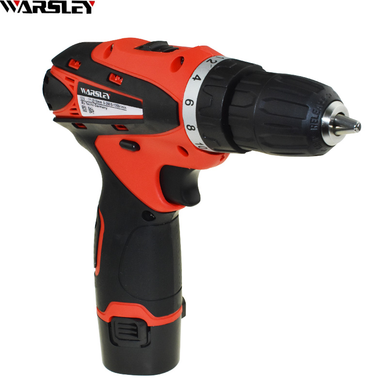 12V Screwdriver Battery Drill Power Tools Electric Drill Cordless Drill Electric Electric Drill Ing 1 Batteries Carton Packaging