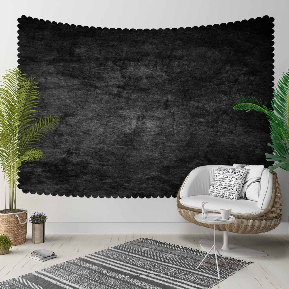 Else Gray Vintage Abstract Watercolor Aging Shine 3D Print Decorative Hippi Bohemian Wall Hanging Landscape Tapestry Wall Art