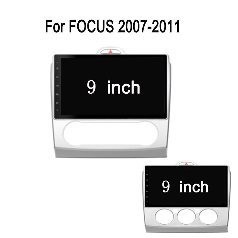 9 Octa Core Android 7.1 For Ford Focus 2007 2008 2009 2010 2011 Car Radio DVD player GPS