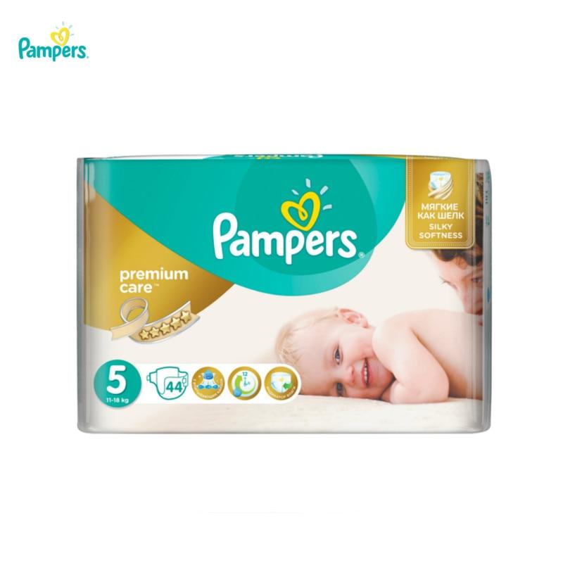 Подгузники Pampers Premium Care 11-18 кг, 5 размер, 44 шт.