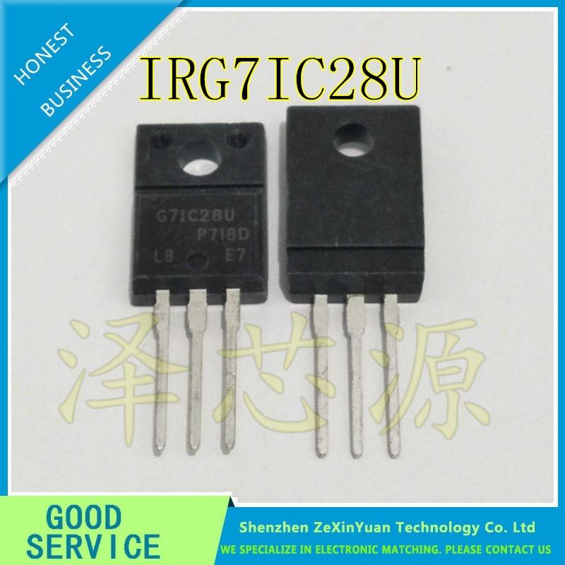 10PCS/LOT IRG7IC28U IRG71C28U IRG7IC28 G7IC28U TO-220F