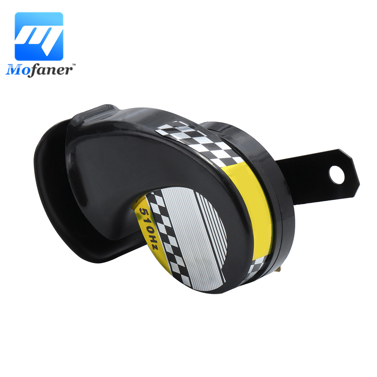 Mofaner 12 v Universal Schnecke Luft Motorrad Horn Sirene Laut 130dB Wasserdicht Für Lkw Motorrad
