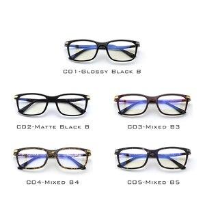 Image 2 - CGID TR90 ordinateur lunettes Anti rayons bleus rayonnement optique impression lunettes carré oeil PC lunettes cadres hommes et femmes CT46