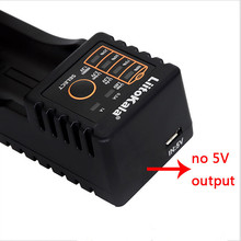 Liitokala Lii-100 B 18650 Battery Charger For 26650 16340 Cr123 Lifepo4 1.2V Ni-Mh Ni-Cd Rechareable Battery (No 5V Output)