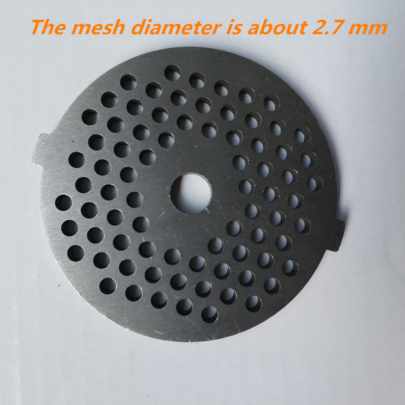 2.7mm Mesh meat grinder plate net knife VITEK knives for meat grinders General meat grinder parts round blade цена и фото