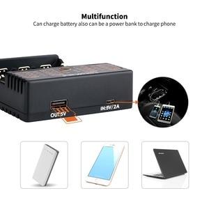 Image 4 - LiitoKala Lii 402 18650 Battery Charger For 26650 16340 RCR123 14500  LiFePO4 1.2V Ni MH Ni Cd Rechareable Battery lii402