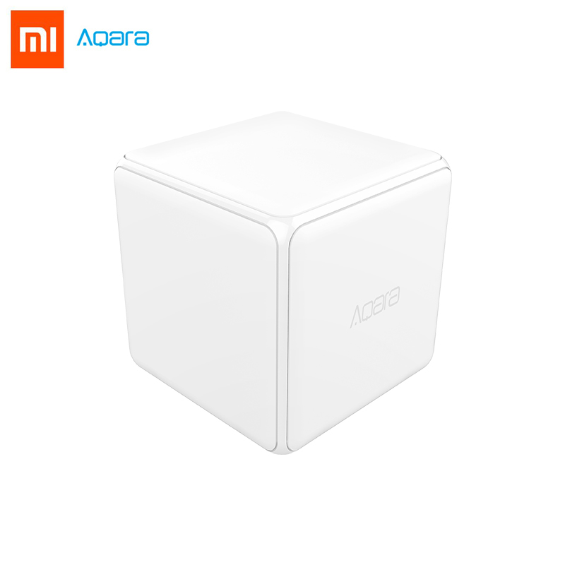 Xiaomi Aqara Mi Magic Cube Controller Zigbee Version Support Upgrade Gateway Smart Home Mijia Device Wireless MiHome APP Control ...