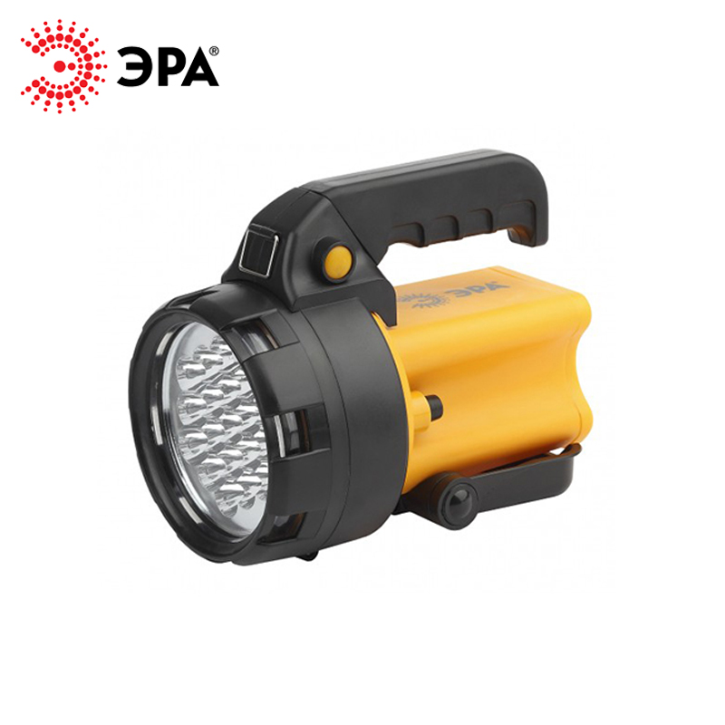 PA-602 ERA flashlight projector rechargeable OMEGA 19xLED, Li 3Ач, with charger 220 V + 12 V lumintop 920 lumen flashlight sd4a searching light cree xp l hi powerful led flashlight max beam 285 meters 8 modes