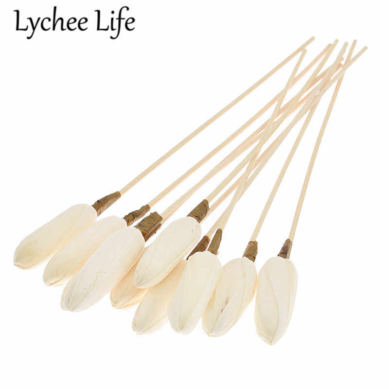 10pcs 5.5mm Reed Diffuser เปลี่ยน Stick Willow หวาย Reed Diffuser Refill Stick DIY Handmade Home Decor
