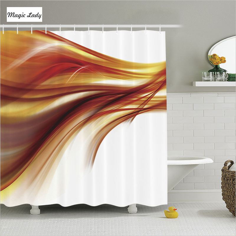 Shower Curtain Designs Bathroom Accessories Abstract ...
