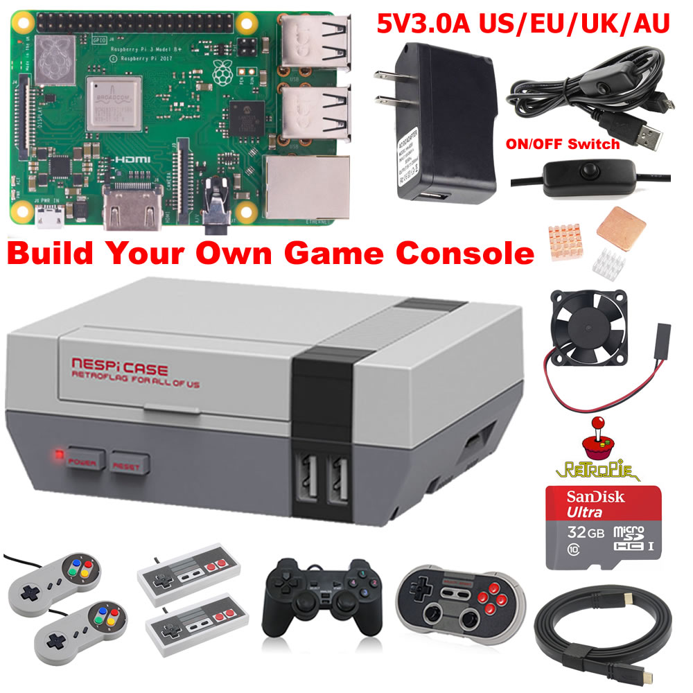 Raspberry Pi 3 Model B B Plus Game Kit G3B01