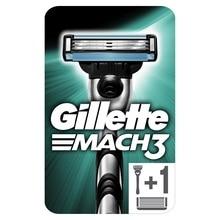 Мужская Бритва Gillette Mach 3 c 2 сменными кассетами