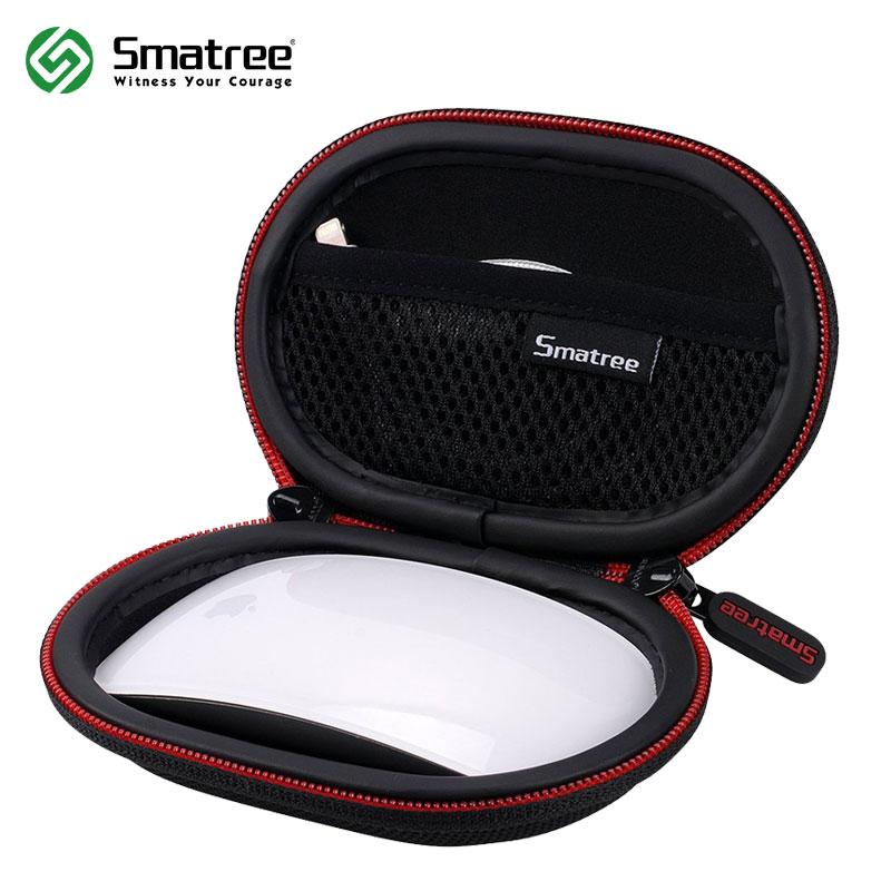 Smatree duro funda para Apple Magic Mouse duro portátil bolsa de protección para auriculares cable de datos Mini CASO DEL RATÓN