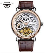 Business Watches Tourbillon Mens Luxury Brands shockproof Waterproof Watch Strap men Mechanical Watch Automatic Skeletal classic mens auto date self winding mens watch tourbillon men automatic luxury men wrist watch mechanical simple watch