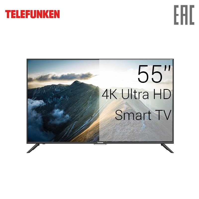 TV LED Telefunken 55 TF-LED55S60T2SU 4K UHD SmartTV 5055inchTV 2018 newmodel tv led lg 43 43uk6390plg 4k uhd smarttv 4049inchtv