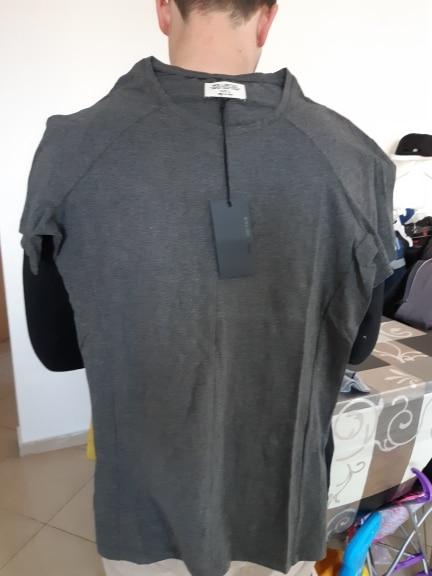 Men's Short Sleeve T-Shirt Fitness Muscle Brand Tops Tees New Summer Slim Men T-Shirt Casual bottoming shirt T569-2