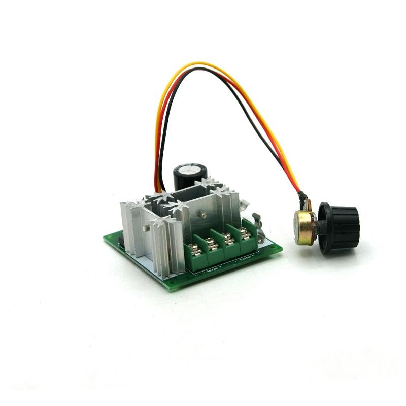 Motors & Parts Honest 20 A Dc Pwm Speed Motor Infinite Module 12 V Switch Knob To 60 V Belt