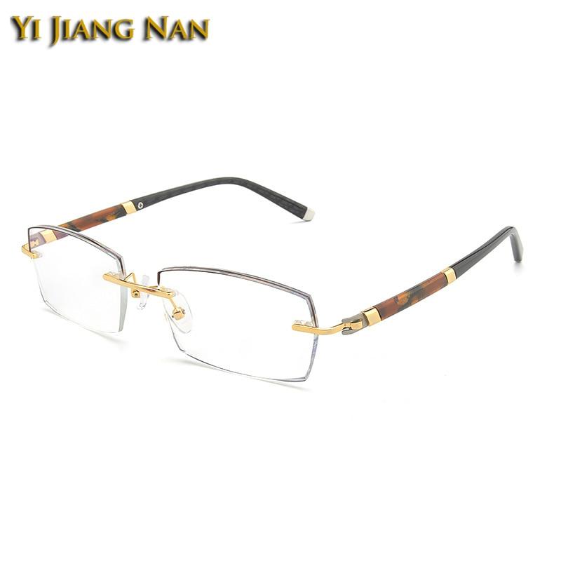 Occhiali Homme Lunette Nan Jiang Yi Transparent Rahmen Frame Spektakel Korekcyjne Uomo Da Brown Vista gray Leg Black Okulary Brillen Marke Leg Männer Gold w7twqg5Pxn