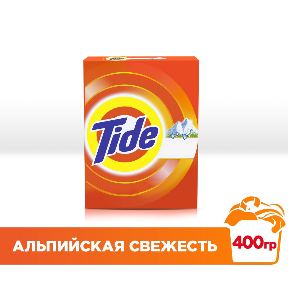 Laundry detergent Tide Hand wash Alpine Freshness 400 gr.