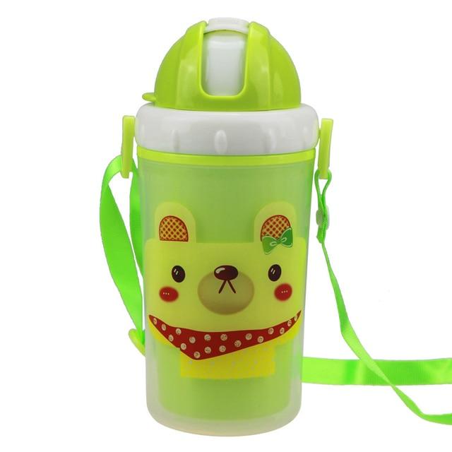 Tragbare Dicht Kunststoff Flaschen Cartoon Design Kind Wasserflasche ...