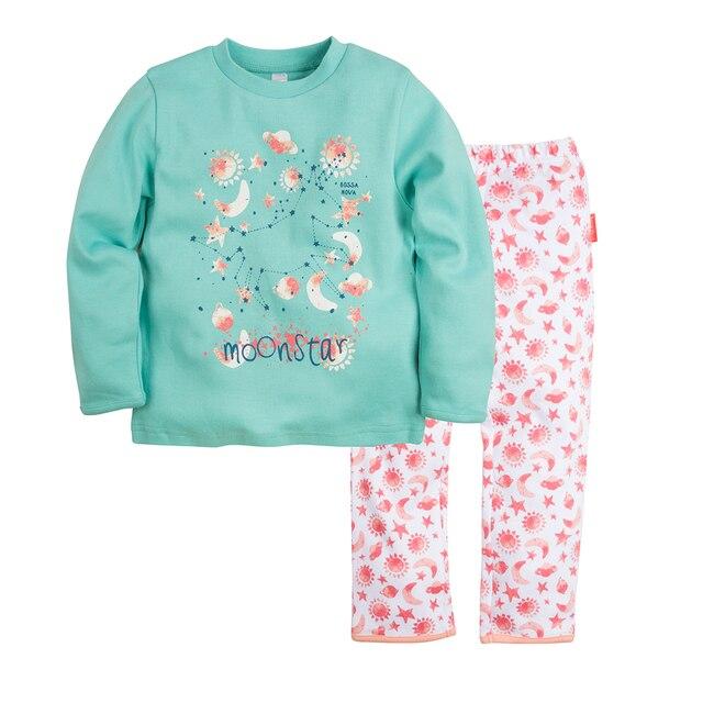 Пижама джемпер+брюки BOSSA NOVA для девочек 362b-361