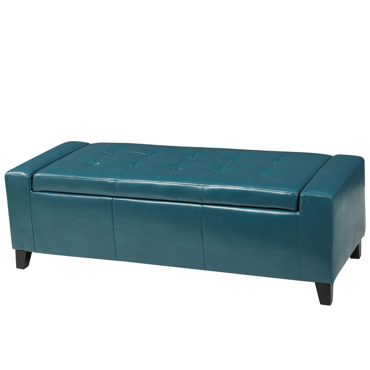 Robin Teal Leather Storage Ottoman Bench гарнитура akg y50 teal
