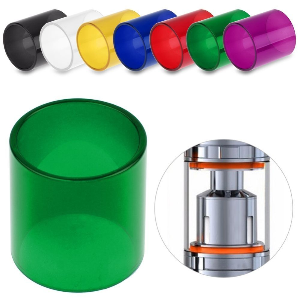 Original Atomizer Glass Color Change Replacement Tube  For TFV 8 Big Baby Cloud Beast 5ml Subohm