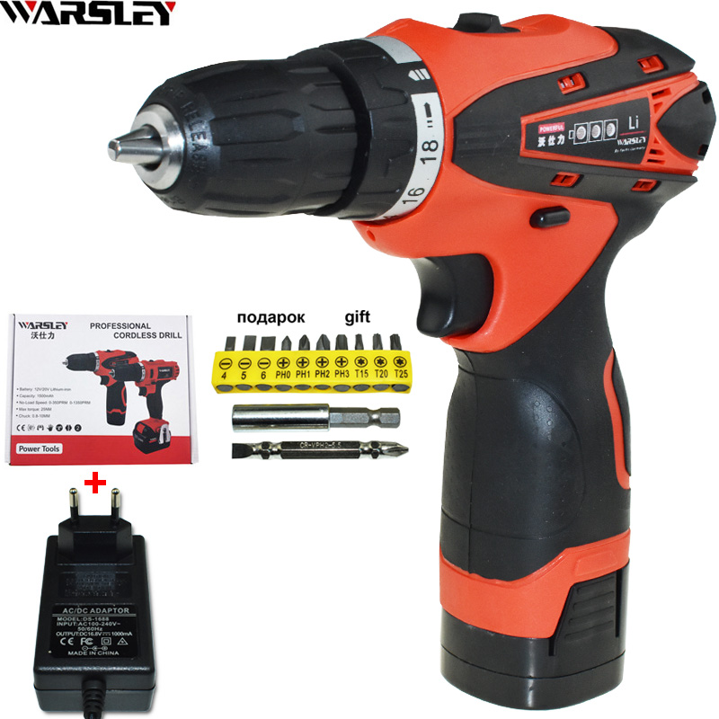 16.8V Cordless Drill battery drill power tools Mini electric screwdriver electric drill Screwdriver Electric Like Speed Dremel free shipping brand proskit upt 32007d frequency modulated electric screwdriver 2 electric screwdriver bit 900 1300rpm tools