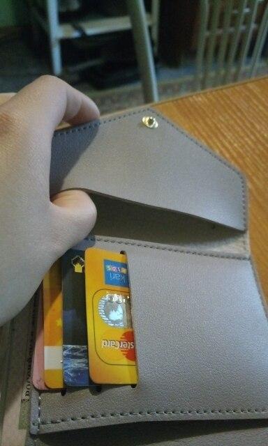 Portemonnee Dames Effen Tassel Portemonnee voor Creditcards Klein Luxe Merk Leren Korte Dames Korte portefeuilles en portemonnees Rits photo review