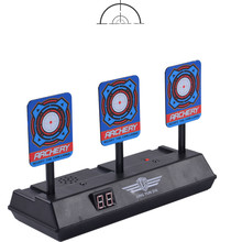 Newly Electric Scoring Target For Toy Guns With Water OR Soft Bullet Toys Children Practicing Juguetes Boys Birthday Gift