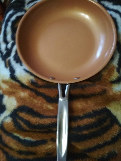 Sweettreats Non-stick Copper Frying Pan with Ceramic Coating and Induction cooking,Oven & Dishwasher safe