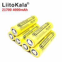 2019 LiitoKala Lii-40A 21700 4000 mAh li-ni batterie 3.7 V 40A pour Cigarette électronique Mod/Kit 3.7 V 15A puissance 5C débit décharge