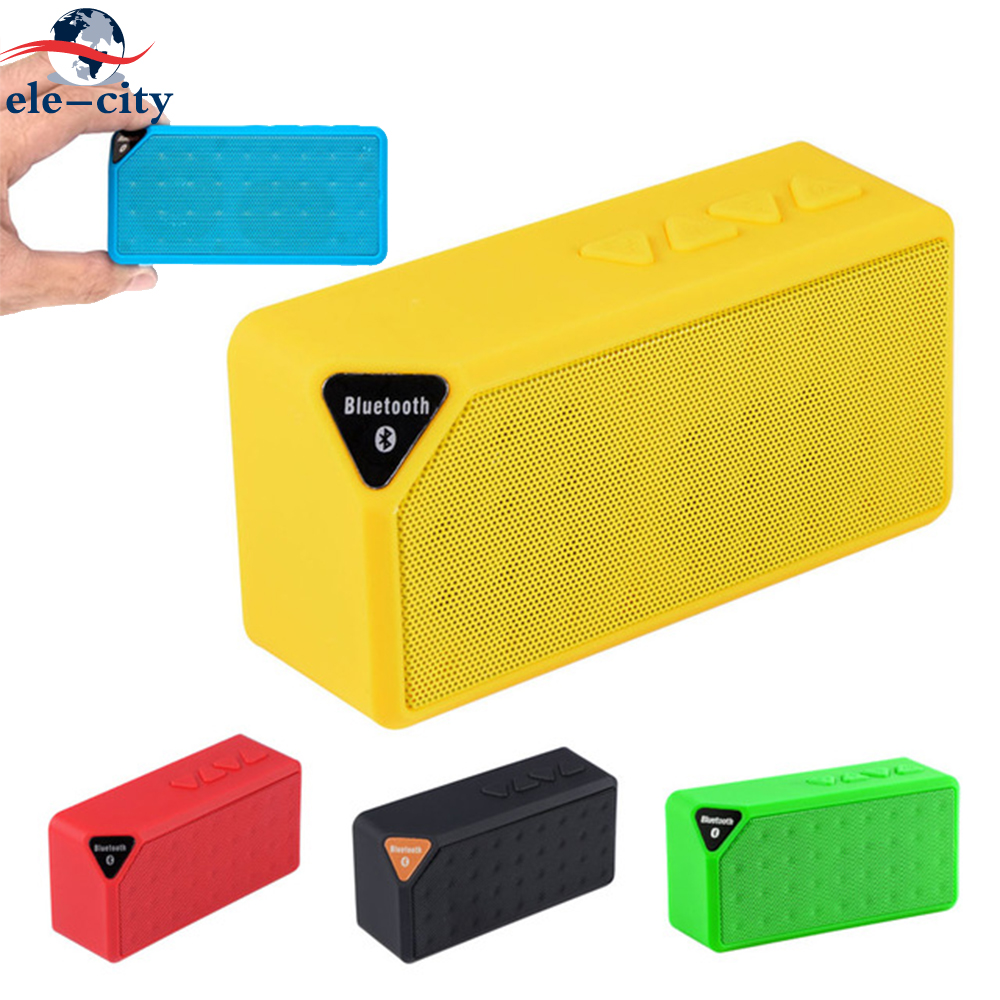 Mini Portable Bluetooth Stereo Speaker Wireless Outdoor Music Player FM Radio USB Flash Drive TF Card LINE-IN Audio for IPhone tg06 mobile power wireless bluetooth speaker outdoor mini fm radio tf card portable small stereo speakers