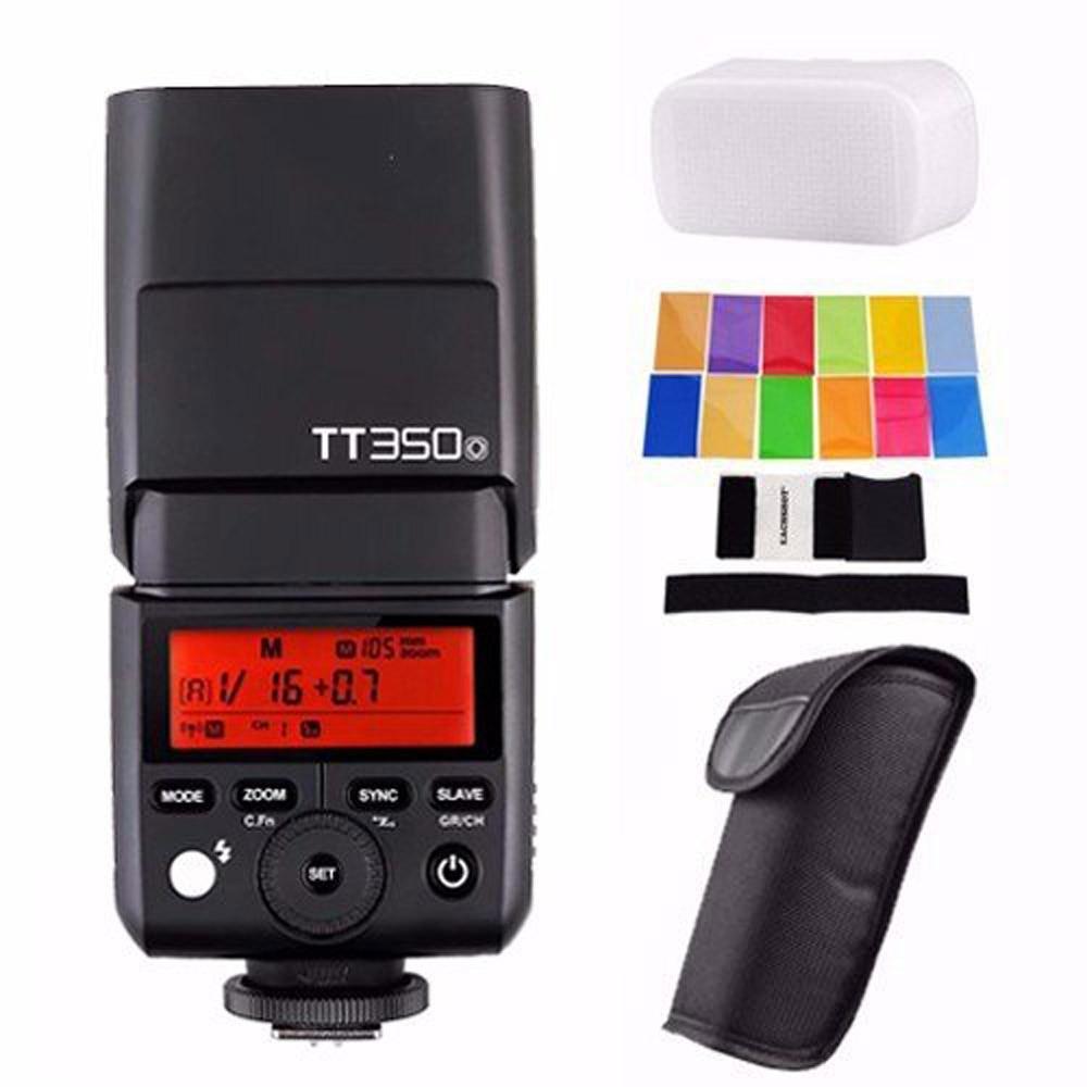 Godox TT350 2.4G HSS 1/8000s TTL GN36 Camera Flash Speedlite for Canon Nikon Sony Fuji Fujifilm Panasonic Lumix Olympus PENTAX