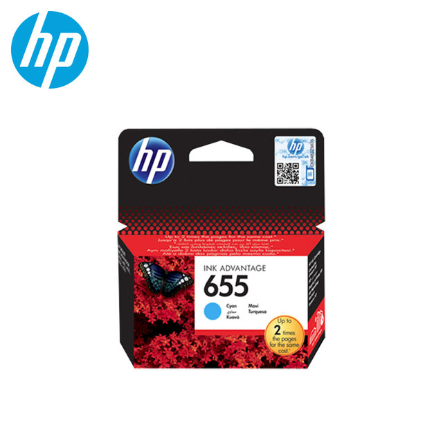 Картридж для Hewlett-Packard HP 655 Cyan(Russian Federation)