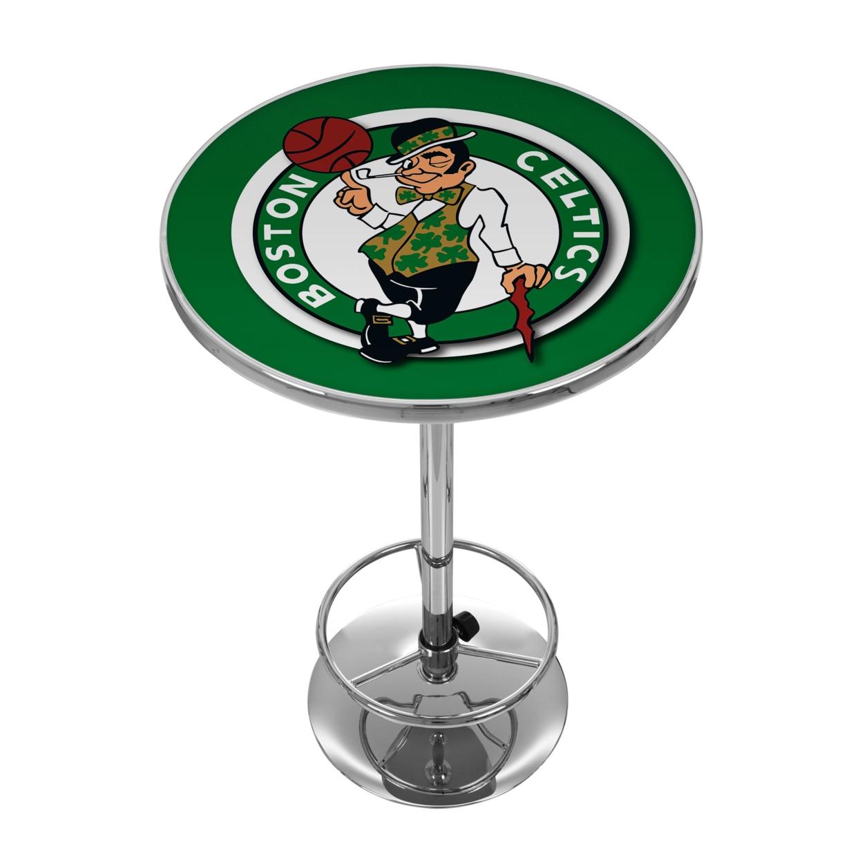 Boston Celtics NBA Chrome 42 Inch Pub Table мотоблок дизельный patriot boston 9de